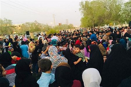 جشنواره آب بازی در پارک والفجر برازجان  | Hadis heydar sefat