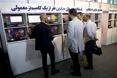بیست و پنجمین نمایشگاه الکامپ | Bahman Sadeghi