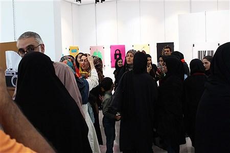 نمایشگاه گروهی  آثار پوستر هنرجویان رشته گرافیک  هنرستان امام رضا(ع)  و هنرستان فنی فاطمه زهرا(س)شهرستان کازرون | Amin Jokar