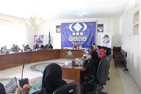 دوره آموزشی خبرنگاری ، عکاسی و فن بیان  ویژه مسولین انجمن اسلامی دانش آموزان دختر ارومیه | reza maroufi