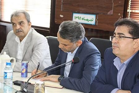 تودیع و معارفه سرپرست معاونت توسعه و پشتیبانی اداره کل آموزش و پرورش استان بوشهر  | Abol ghasem abdollahi