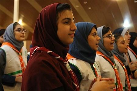 اردوی پیشتازان شهر تهران با شعار همفکری، همدلی و همکاری در اردوگاه ابوذر تهران برگزار شد   Zahra Alihashemi