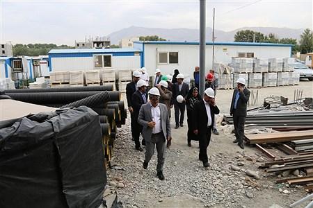 بازدید اعضای شورای اسلامی شهر قدس از پروژه  بیمارستان 160 تختخوابی  | Mohammad javad Maher
