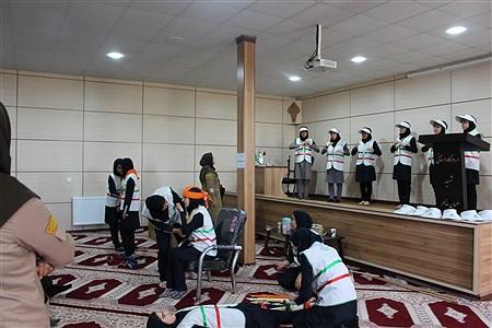 حضور مدیرکل آموزش و پرورش کردستان در پیش اردو ملی | maedeh abdollahi