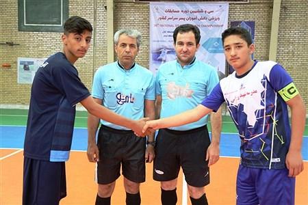 گزارش تصویری از رقابتهای ورزشی دانش آموزان سراسر کشور در رشته ورزشی فوتسال - اردبیل | mohammady