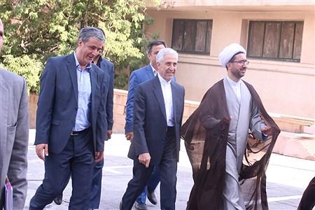 افتتاح ساختمان مرکزی حراست وآشپزخانه صنعتی دانشگاه با حضور وزیر علوم   MohammadAminGavidel