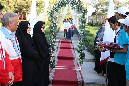 مراسم افتتاحیه اردوی نشاط و امید پسران | Fatemeh Rezaee
