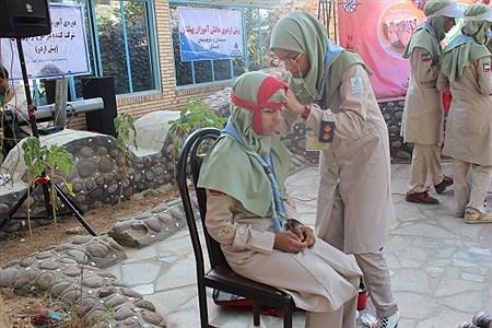 آیین اختتامیه پیش اردوی پیشتازان سیستان و بلوچستان برگزار شد   narjes gholami