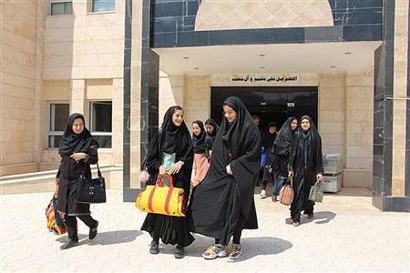 اعزام  دختران پیشتاز به نهمین اردوی ملی  | Mahdiyeh Bazdidi