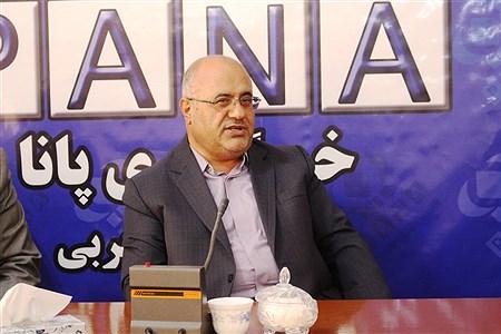 حضور مدیر کل آموزش و پرورش آذربایجان غربی در دفتر خبرگزاری پانا به مناسبت  روز خبرنگار | reza maroufi