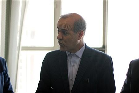 حضور مدیرکل آموزش و پرورش آذربایجان شرقی و سخنگوی کمیسیون آموزش و تحقیقات مجلس در خبرگزاری پانا استان به مناسبت روز خبرنگار | Morteza Farzi