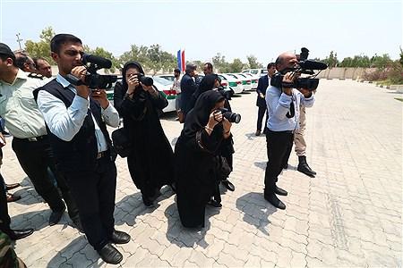 رونمایی از هشت خودوری نیروی انتظامی در روز خبرنگار  | Amir Hossein Yeganeh