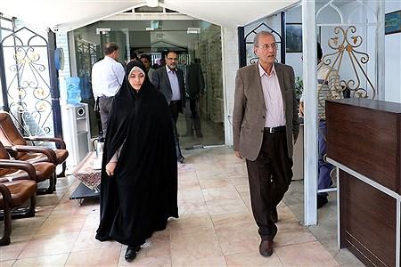 بازدید سخنگوی دولت از خبرگزاری پانا   Bahman Sadeghi