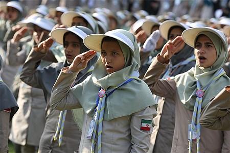 اختتامیه نهمین دوره اردوی ملی پیشتازان دختر   Mahdi Maheri