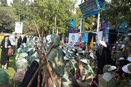 آیین اختتامیه نهمین دوره اردوی ملی  دختران و سومین روز حضور پیشتازان خوزستانی  | Fahimeh Abdulkhani