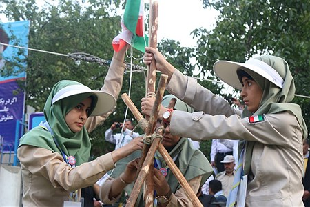 اختتامیه نهمین دوره اردوی مهارتی پیشتاز دختران | Zahra Alihashemi