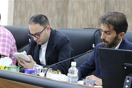 نشست خبری رئیس نظام مهندسی ساختمان آذربایجان غربی | Amir Hosein Mollazade