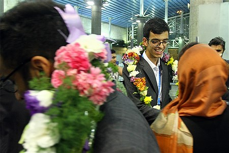 استقبال از مدالآوران سی و یکمین المپیادجهانی کامپیوتر | Hossein Paryas