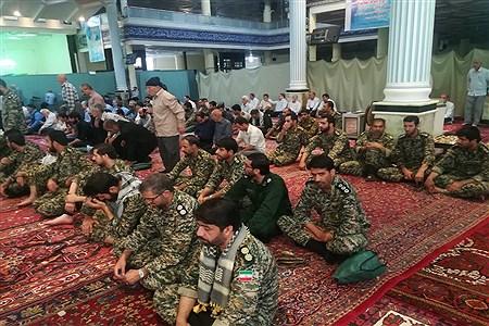 اقامه نماز عید قربان در مسجد جامع شهرستان آذرشهر | Isa fathi