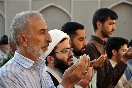 نماز عید قربان در مسجد جامع شهرستان خوسف | Mahdi Arasteh