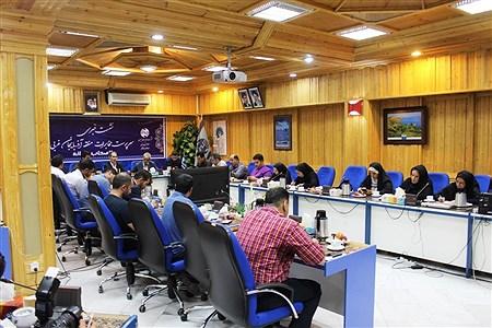 نشست خبری سرپرست مخابرات آذربایجان غربی به مناسبت روز خبرنگار | reza maroufi