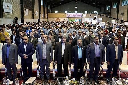 افتتاحیه سی و هفتمین جشنواره فرهنگی و هنری پسران سراسر کشور | Bahman Sadeghi