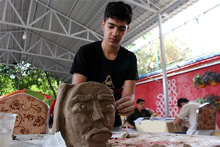 اولین روز از رقابت های سی و هفتمین جشنواره فرهنگی و هنری پسران سراسر  کشور | Amir Gholami