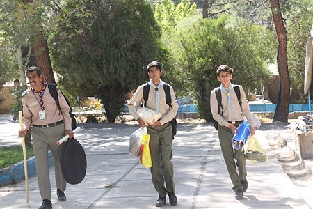 پذیرش و استقرار دانش آموزان پیشتاز پسر در نهمین دوره اردوی ملی پیشتازان   | Mahdi Asadi