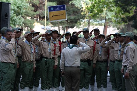 رژه دانش آموزان پسر در نهمین دوره اردوی ملی پیشتازان کشور  | Moein Mohammadirokh
