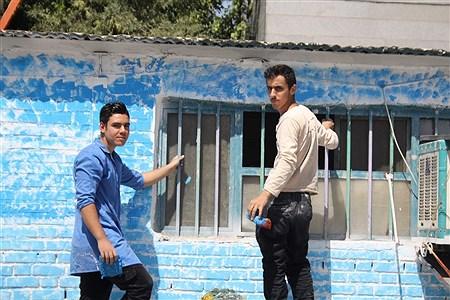 گروه جهادی جوانان حوزه بسیج دانش آموزی ناحیه یک ری  | ali jafari