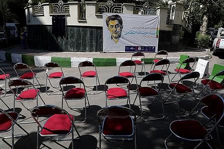 رونمایی از تابلو نام خیابان و سردیس استاد عزتالله انتظامی | Bahman Sadeghi