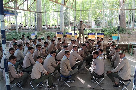 فعالیت های دانش آموزان پیشتاز در اولین روز از نهمین دوره اردو ملی پیشتازان سراسر کشور | Amirhossein Bahrami