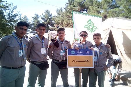 حضور پیشتازان پسر استان همدان در اردو ملی نیشابور | Amir Mohammad Zohdi