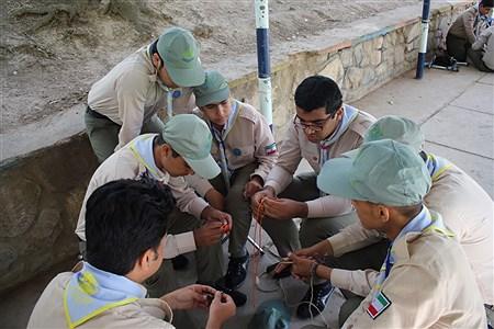 دومین روز از نهمین دوره اردوی ملی پیشتازان کشور  | Mohammad Amin Mohammadian