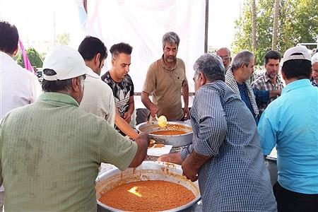 توزیع 7000 پرس طعام به مناسبت عید ولایت در شهرستان کازرون | Koorosh Khezri Motlagh