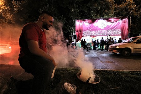 جشن عید غدیر در خیابانهای مشهد   Amir Hossein Yeghane