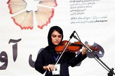 اولین روز از رقابتهای سی و هفتمین جشنواره فرهنگی و هنری دختران سراسر کشور | Amir Gholami