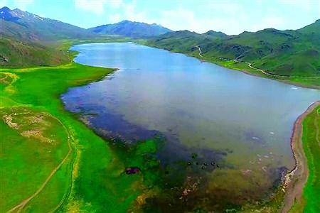 تصاویری از دریاچه زیبای نئور - اردبیل  | mohammady