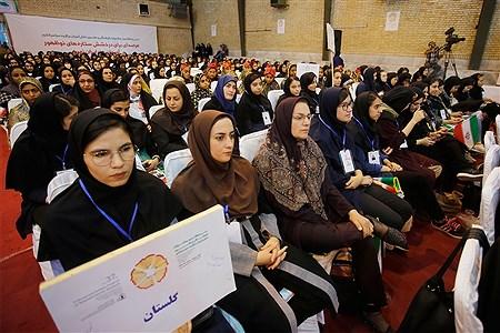اختتامیه سیوهفتمین جشنواره فرهنگی و هنری دانش آموزان برگزیده دختر سراسر کشور | Hossein Paryas