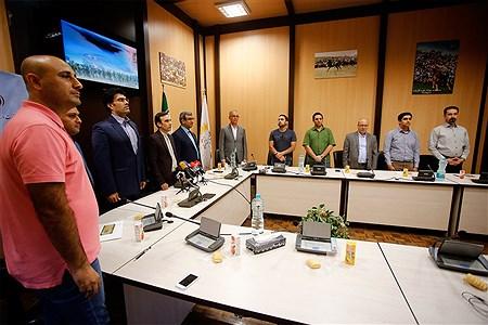 نشست خبری رئیس فدراسیون کبدی و مدیرعامل سازمان منطقه آزاد کیش | Hossein Paryas