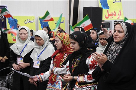 اختتامیه همایش ملی شوراهای دانشآموزی برتر استانها   Abed Ranjbar