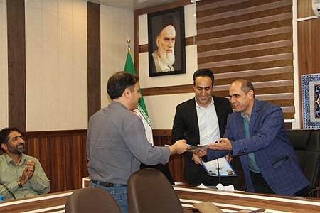 تجلیل از کارمندان نمونه آموزش و پرورش شهرری در هفته دولت   sheyda mashhour