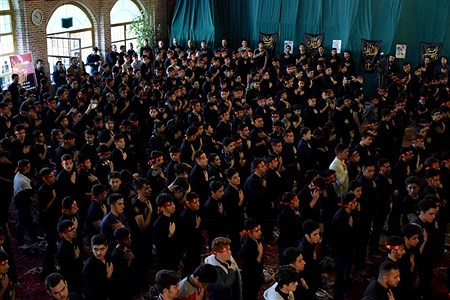سوگواره دانش آموزی احلی من العسل در تبریز | Mahdi Rafiee Kia