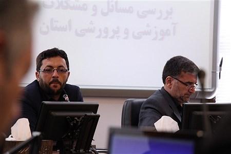 هفدهمین نشست شورای اسلامی خراسان رضوی با مسئولان آموزش و پرورش استان  | Moein Mohammadirokh