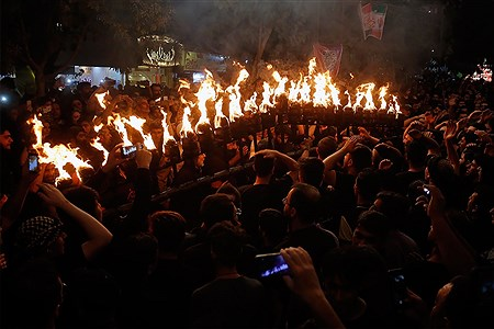 آیین مشعلگردانی در دولتآباد تهران | Hossein Paryas