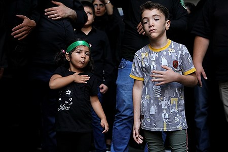 عزاداری تاسوعای حسینی در بازار تهران | Bahman Sadeghi