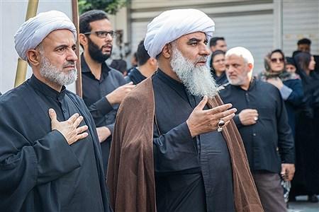 عزاداری خیابانی مردم ارومیه در تاسوعای حسینی | Ali Arsalani