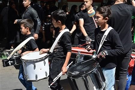 مراسم عزاداری تاسوعا حسینی در شهریار | Sara Vesagh