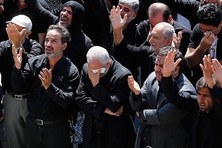 عاشورای حسینی در میدان امام حسین (ع) | Hossein Paryas