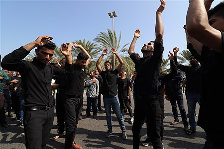 مراسم روز عاشورای حسینی در کیش  | Amir Hossein Yeganeh